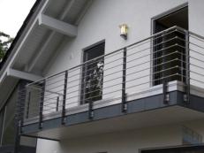 Балконные ограждения из нержавеющей стали и алюминия