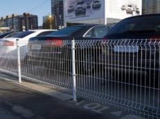Ограждения для парковки из нержавеющей стали и алюминия